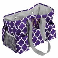 Washington Huskies Quatrefoil Weekend Bag