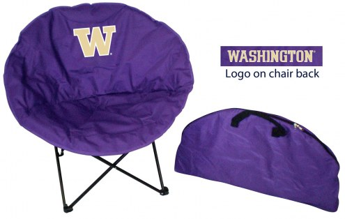 Washington Huskies Rivalry Round Chair