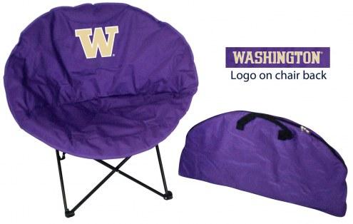 Washington Huskies Rivalry Round Chair