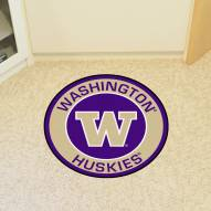 Washington Huskies Rounded Mat