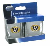 Washington Huskies Shot Glass Set