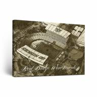 Washington Huskies Sketch Canvas Wall Art