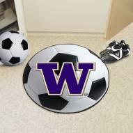 Washington Huskies Soccer Ball Mat