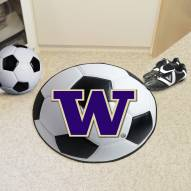 Washington Huskies Soccer Ball Mat