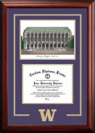 Washington Huskies Spirit Graduate Diploma Frame