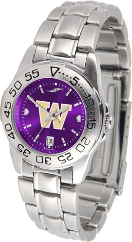Washington Huskies Sport Steel AnoChrome Women's Watch