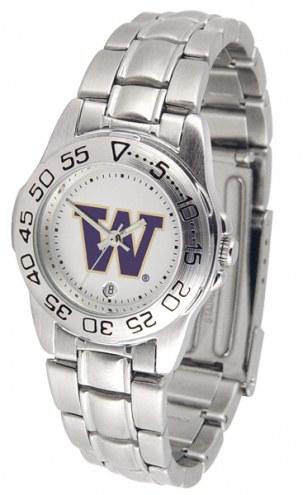 Washington Huskies Sport Steel Women's Watch