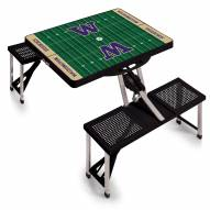 Washington Huskies Sports Folding Picnic Table