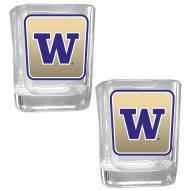 Washington Huskies Square Glass Shot Glass Set