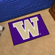 Washington Huskies Starter Rug