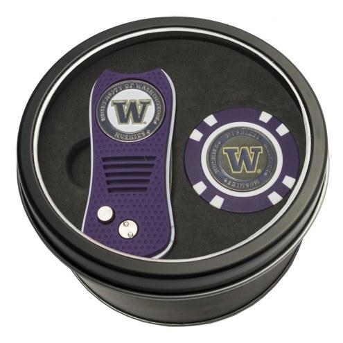 Washington Huskies Switchfix Golf Divot Tool & Chip