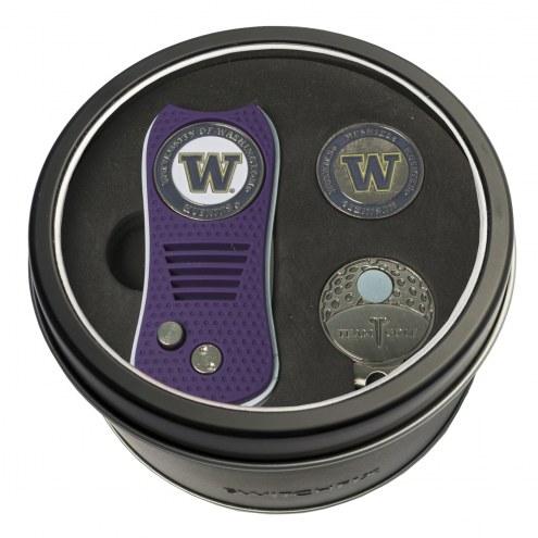 Washington Huskies Switchfix Golf Divot Tool, Hat Clip, & Ball Marker