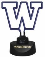 Washington Huskies Team Logo Neon Lamp