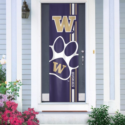 Washington Huskies Door Banner