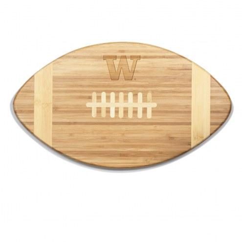 Washington Huskies Touchdown Cutting Board