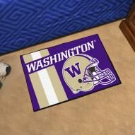 Washington Huskies Uniform Inspired Starter Rug
