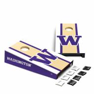 Washington Huskies Mini Cornhole Set