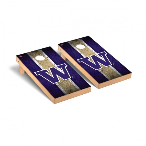 Washington Huskies Vintage Cornhole Game Set