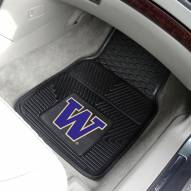 Washington Huskies Vinyl 2-Piece Car Floor Mats