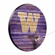 Washington Huskies Weathered Design Hook & Ring Game
