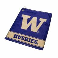 Washington Huskies Woven Golf Towel