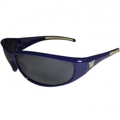 Washington Huskies Wrap Sunglasses