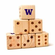Washington Huskies Yard Dice