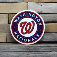 "Washington Nationals 12"" Steel Logo Sign"