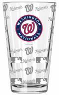 Washington Nationals 16 oz. Sandblasted Pint Glass
