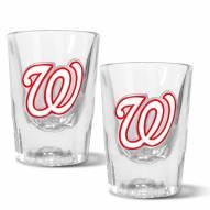 Washington Nationals 2 oz. Prism Shot Glass Set