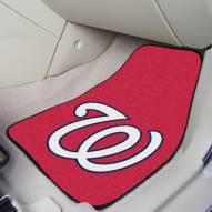 Washington Nationals 2-Piece Carpet Car Mats