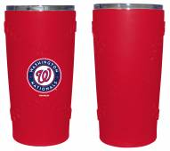 Washington Nationals 20 oz. Stainless Steel Tumbler with Silicone Wrap