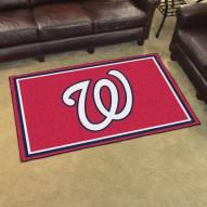 Washington Nationals 4' x 6' Area Rug