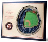 Washington Nationals 5-Layer StadiumViews 3D Wall Art