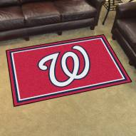 Washington Nationals 5' x 8' Area Rug