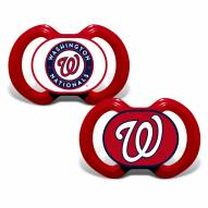 Washington Nationals Baby Pacifier 2-Pack