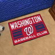 Washington Nationals Baseball Club Starter Rug