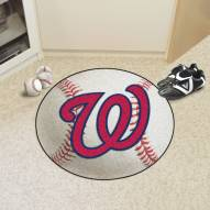 Washington Nationals Baseball Rug