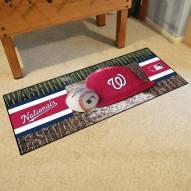 Washington Nationals Baseball Runner Rug