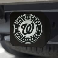 Washington Nationals Black Matte Hitch Cover