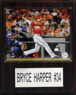 """Washington Nationals Bryce Harper 12"""" x 15"""" Player Plaque"""