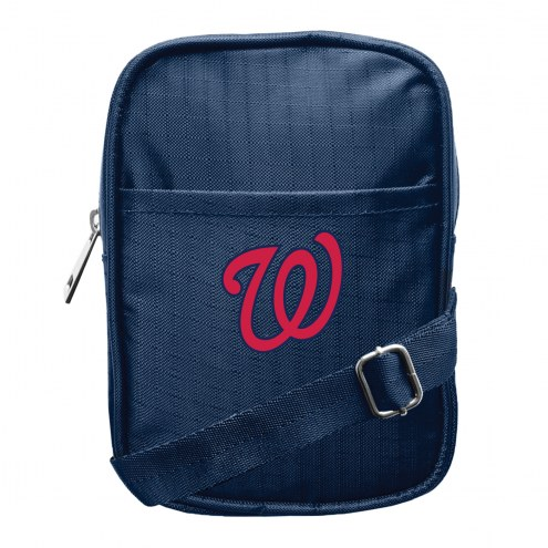 Washington Nationals Camera Crossbody Bag
