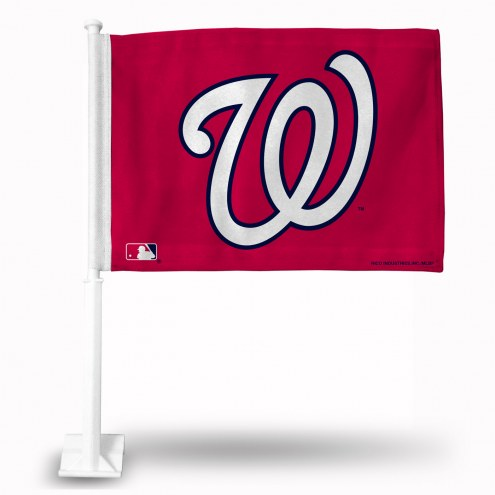 Washington Nationals Car Flag