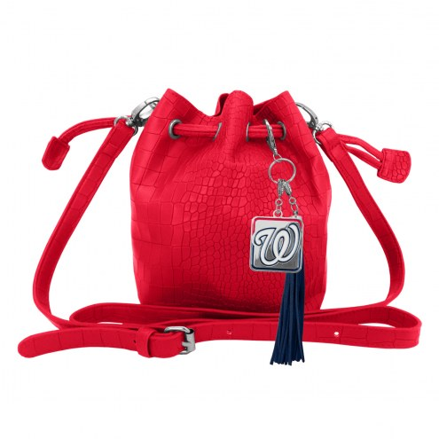 Washington Nationals Charming Mini Bucket Bag