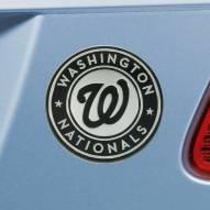 Washington Nationals Chrome Metal Car Emblem