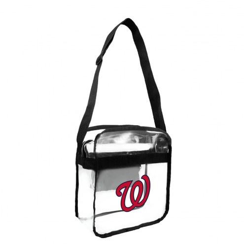 Washington Nationals Clear Crossbody Carry-All Bag