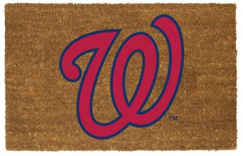 Washington Nationals Colored Logo Door Mat