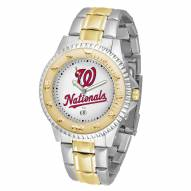 Washington Nationals Competitor Two-Tone Men's Watch