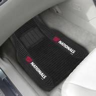 Washington Nationals Deluxe Car Floor Mat Set