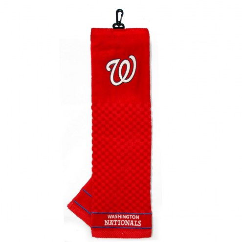 Washington Nationals Embroidered Golf Towel